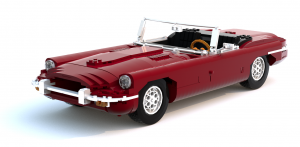 Jaguar E-Type Roadster LEGO Ideas not approved