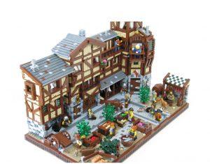 Medieval Market Street - LEGO Ideas - Not approved
