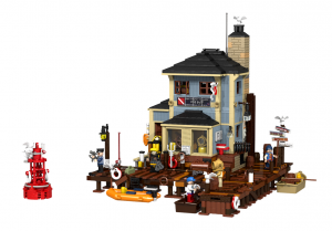The Dive shop - Lego Ideas - Not approved.