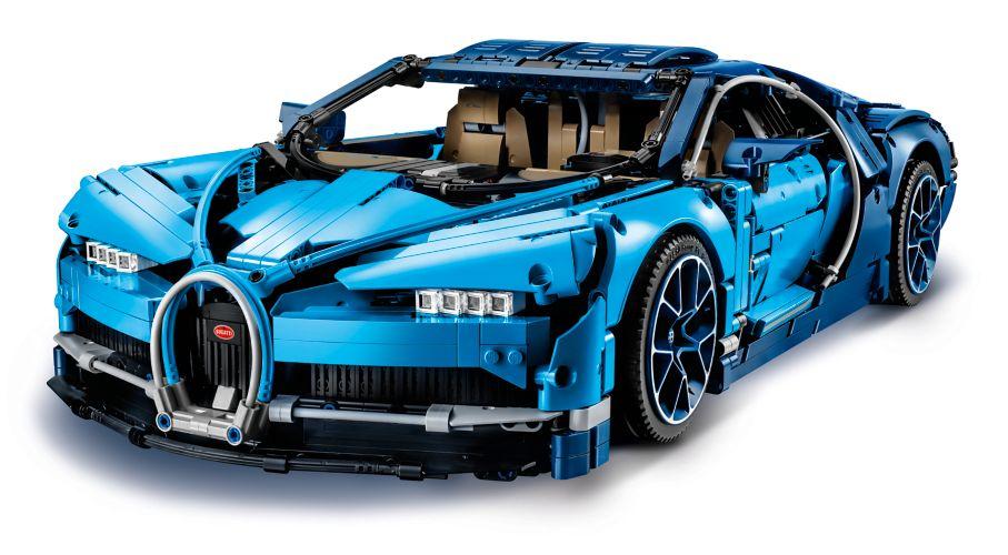 Hobby project technisch LEGO - Bugatti Chiron