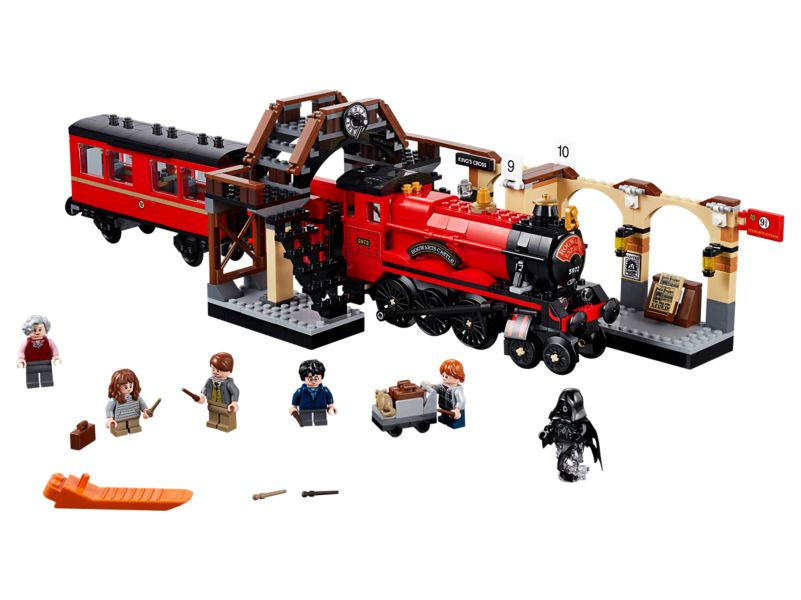 Bouw je eigen LEGO Harry Potter - De Zweinstein Express