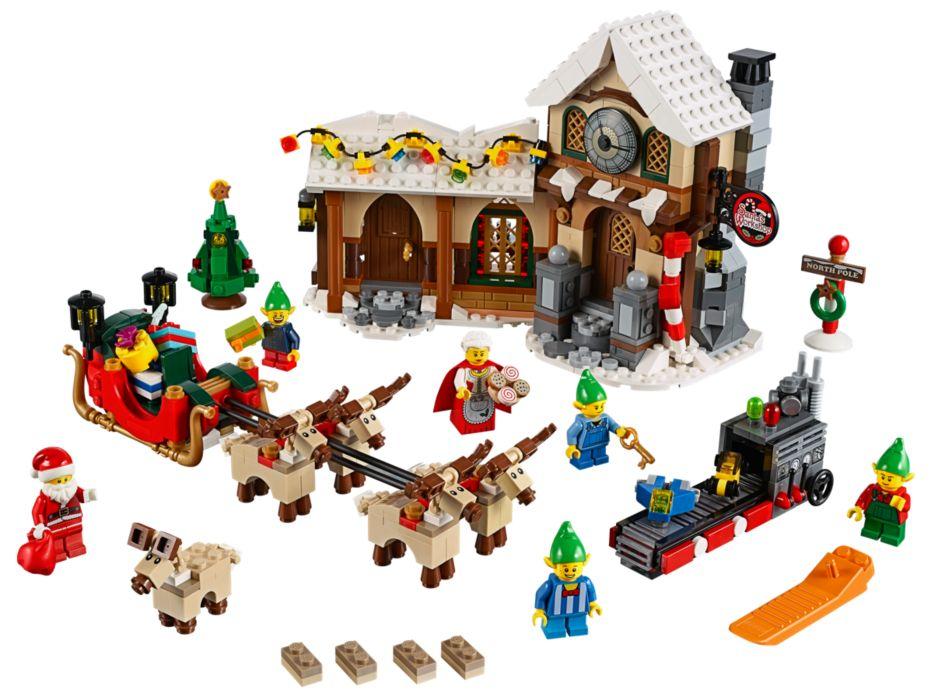 LEGO Kerstdorp - Kerstman werkplaats
