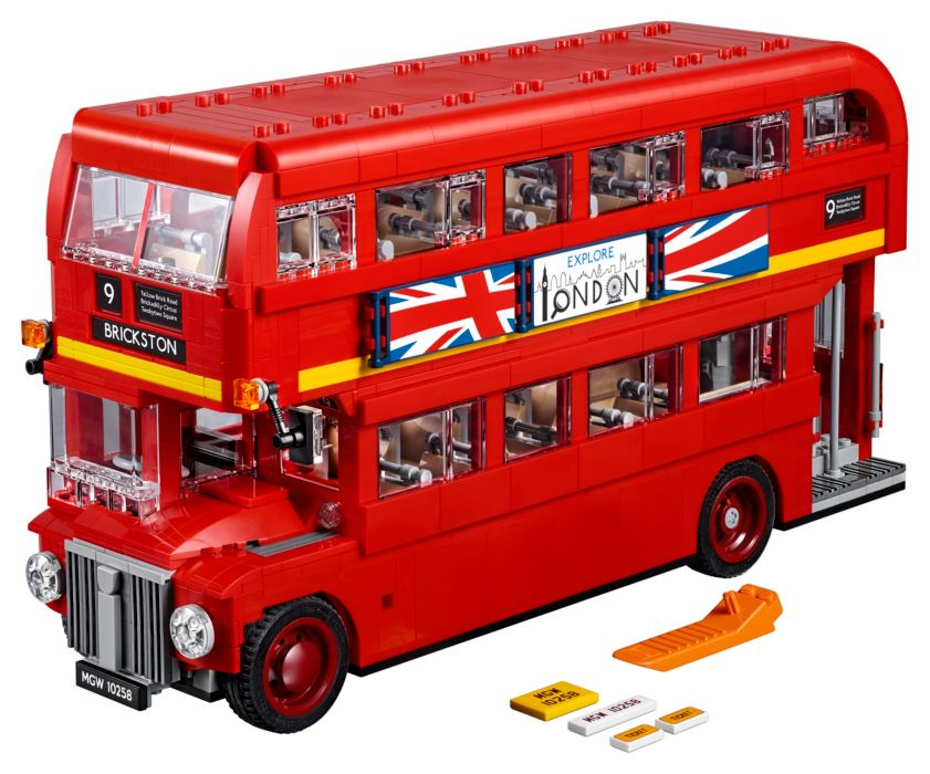 Hobby project - Londense bus