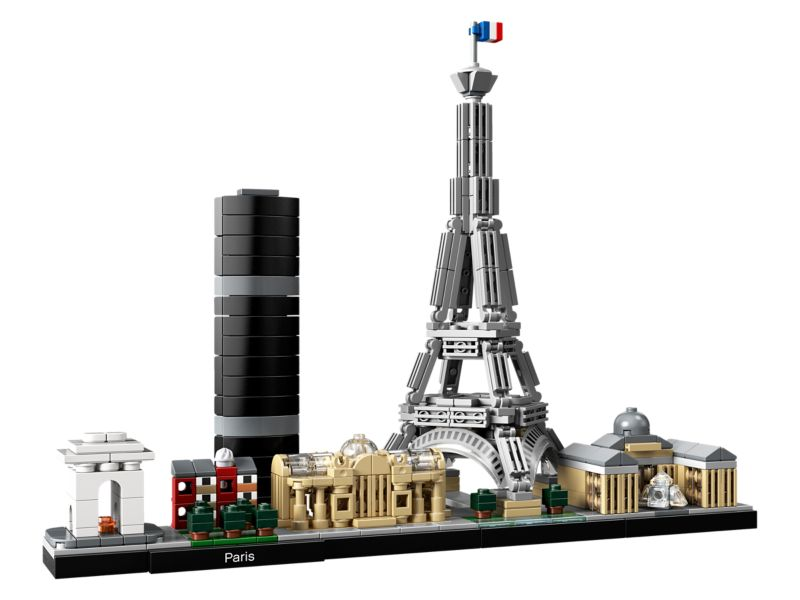 Bouw de LEGO Eiffeltoren van Parijs