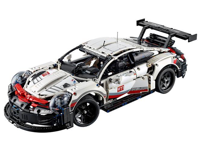 Hobby project technisch LEGO - Porsche_911 RSR