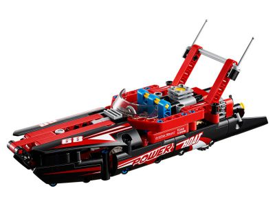 Hobby project technisch LEGO - Powerboat