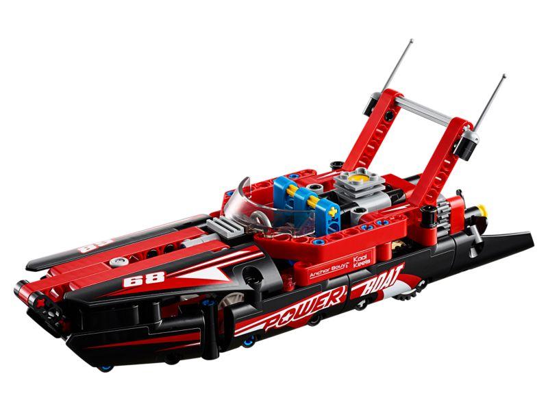 Hobby project technisch LEGO - Powerboat