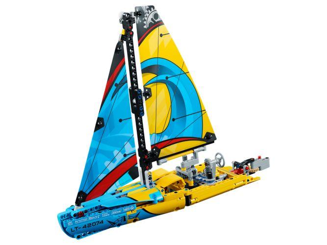 Bouw je eigen LEGO Racejacht