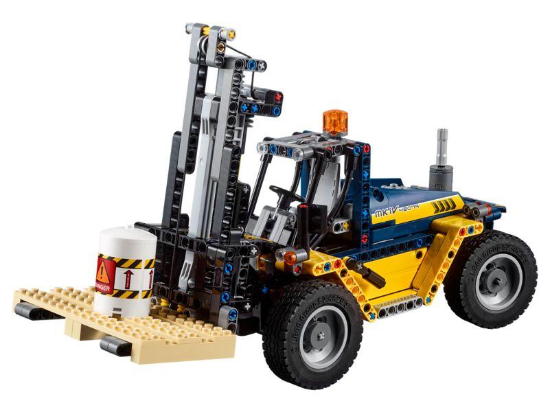Bouw je eigen LEGO Robuuste vorkheftruck als nieuwe hobby